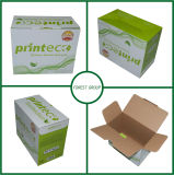 Cartuchos de tonalizador ondulados do tamanho médio que empacotam a caixa de papel