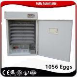 Entièrement automatique de l'éclosion d'incubateur 1000 oeufs de pigeon Ce approuvé