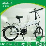 Mini plegamiento popular bici elegante eléctrica urbana plegable Fiets del camino de 20 pulgadas