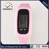 Relógios do esporte do relógio de pulso do podómetro do relógio do bracelete da forma (DC-001)