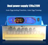 Mis à niveau automatique de Mini-incubateur 56 oeufs de poulet la machine
