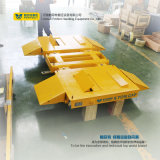 Solução de manuseio de serviço pesado com protecção de guarda-corpos