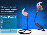 Rádio estereofónico dos auriculares de Bluetooth do esporte da mini em-Orelha 2017 colorida para todos os telefones