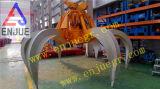 Grúa hidráulica eléctrica de Fortraveling del compartimiento del gancho agarrador de la cáscara de Orangel