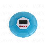A pílula redonda Caso o alarme de lembrete de medicação temporizador digital (48-1Y1710)