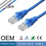 Câbles à grande vitesse de cordon de connexion du câble UTP CAT6 de gestion de réseau de Sipu