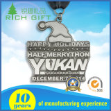 中国の製造はロゴの装飾の表示エナメルのエポキシメダル低価格を切り取った