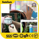 Bottiglie di acqua isolate H2 esterne del silicone del Thermos di vuoto di sport
