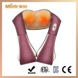 Massageador de pescoço e ombro amassado com infravermelho