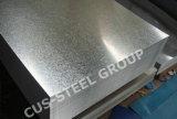 Le zinc plongé chaud a enduit la plaque en acier/tôle d'acier plate galvanisée