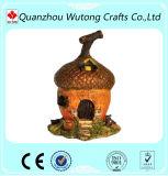 Décoration miniature de jardin de métier de résine de modèle de Chambre de champignon de couche à vendre