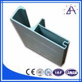 Anodizar o perfil do gabinete da liga 6061-T5 de alumínio para o Wardrobe da mobília