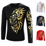 Impression couleur dorée Hot Stamping Holographic Foil for Fashion Top-Sleeve
