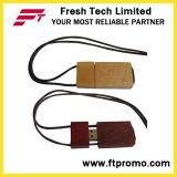 Eco-Friendly привод древесины/Bamboo USB вспышки с логосом (D801)