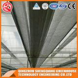 Serre chaude en aluminium commerciale de feuille de polycarbonate de profil de structure métallique