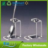 Supports acryliques de présentoir de reste de cuillère, ensemble de 6 parties