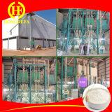 50t / 24h Harina de trigo de las máquinas de fresado con tecnología europea