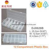 Doos van uitstekende kwaliteit van het Compartiment van pp de Materiële Transparante