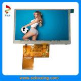 Lisible au soleil TFT LCD 5.0 pouces écran tactile avec résolution de 800*480