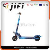 200mm PUの車輪が付いている2つの車輪の発育阻害の子供か大人の蹴りのスクーター