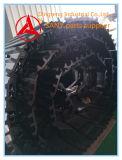 Sapata da trilha da máquina escavadora de Sany e corrente da trilha