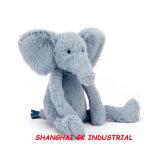 사랑스러운 견면 벨벳 장난감 - 코끼리