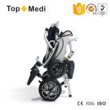 кресло-коляска портативной супер облегченной складной силы 007b+ электрическая для неработающих пациента и старейшини
