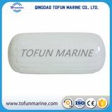 Aile marin gonflable blanc de bateau de trou de centre