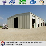Oficina personalizada do frame de aço de classe elevada com certificação do ISO