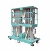 levage hydraulique de mât de capacité de 10m 200kg pour la maintenance extérieure