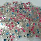 다채로운 아크릴 돌 스티커, 아크릴 모조 다이아몬드 돌 스티커