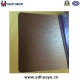 、金バラ色、青銅ブラウンの金、黒いチタニウム、灰色、ローズの金の多彩なステンレス鋼装飾的なシート