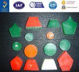 Cinto em forma de caderno hexagonal hexagonal PU Ridge