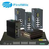 Gestão Industrial de fibra óptica IDS de Switch POE P509