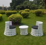 Tabela e cadeira ao ar livre do Rattan do PE do jardim