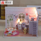 Modelo de madeira Wholsale DIY Doll House