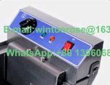 Singola friggitrice elettrica con la valvola dell'olio