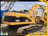 Excavatrice Caterpilliar 320c sert de la machinerie lourde/excavatrice chenillée utilisé Cat 320c