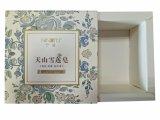 Rectángulo de encargo del jabón de la venta al por mayor de la cartulina del papel hecho a mano del OEM