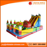 Игровая площадка на открытом воздухе гигантский надувной замок с прыгающими мячами для детей игрушки (T6-032)