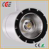 아래로 24W 30W 크리 사람 LED 궤도 빛 LED 가벼운 LED 궤도 램프 실내 램프