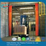 400mm Breiten-energiesparende haltbare Vinyl-Belüftung-Streifen-Vorhang-Tür Rolls