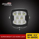 12V 차 에너지 절약 램프가 80W 트럭 일 빛에 의하여 LED 점화한다