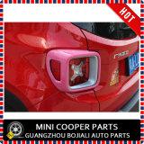 Cubierta rosada material de la lámpara trasera del estilo del ABS del accesorio auto para el modelo renegado (2PCS/SET)