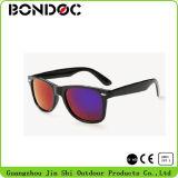 Óculos de sol coloridos impressos dos vidros plásticos do logotipo