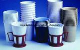 Los productos desechables, de un solo vaso de papel caliente