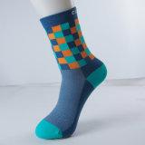 Mann-Fahrrad-Berufsmarken-Sport-Breathable komprimierende Socken