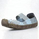 Moda joven zapatos casual teje el tejido dulce