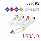 팬케익 중립 G4 플라스틱 USB 섬광 드라이브 Pendrive 같이 인기 상품