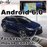 Android Market 6.0 Interface de vídeo do sistema de navegação GPS para 2011-2017 Lexus IS ES GS Ls Nx Rx etc
